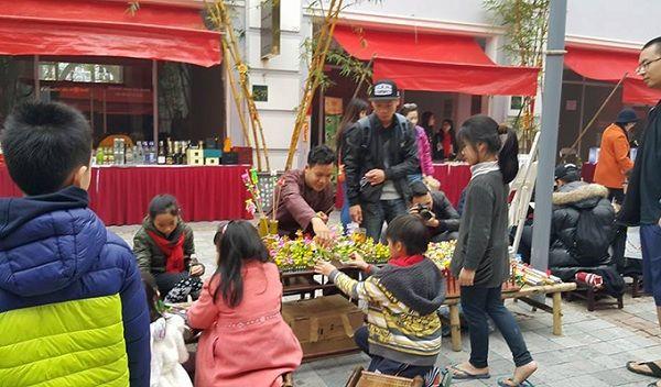 Hội chợ tết Ecopark