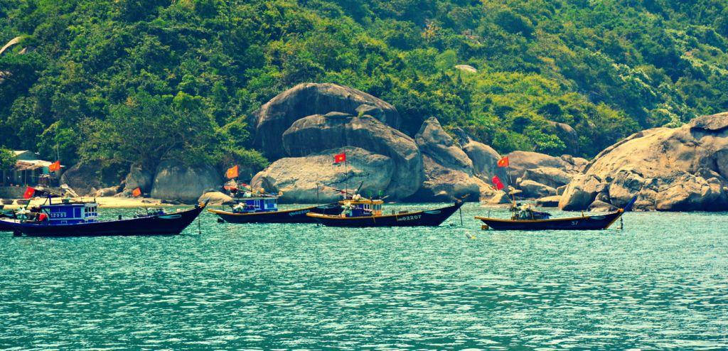 Cù Lào Xanh xinh đẹp