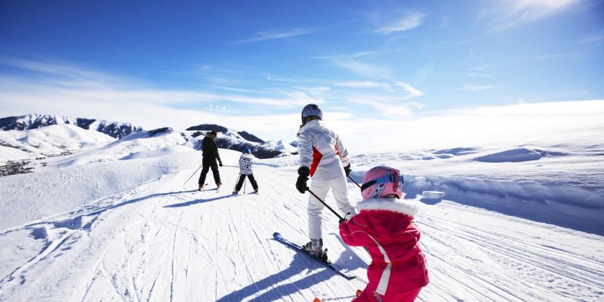 Trượt tuyết vào mùa xuân