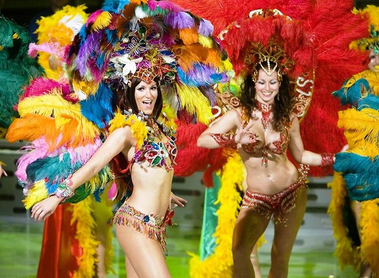 Điệu nhảy Samba nóng bỏng cuồng nhiệt