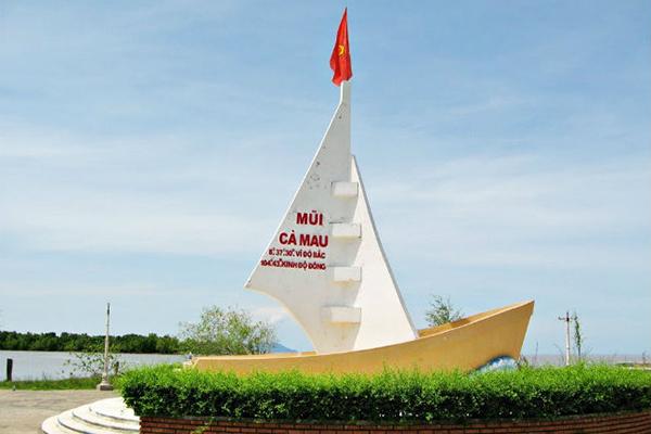 Cột mốc tọa độ cực nam của Việt Nam