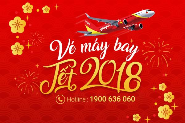 Vé máy bay Tết 2018 cập nhật liên tục
