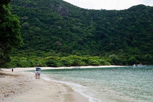 Vẻ đẹp của Vườn Quốc gia Côn Đảo