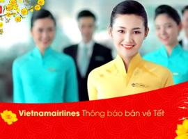 Tổng hợp vé máy bay Tết 2018 Vietnam Airlines giá rẻ