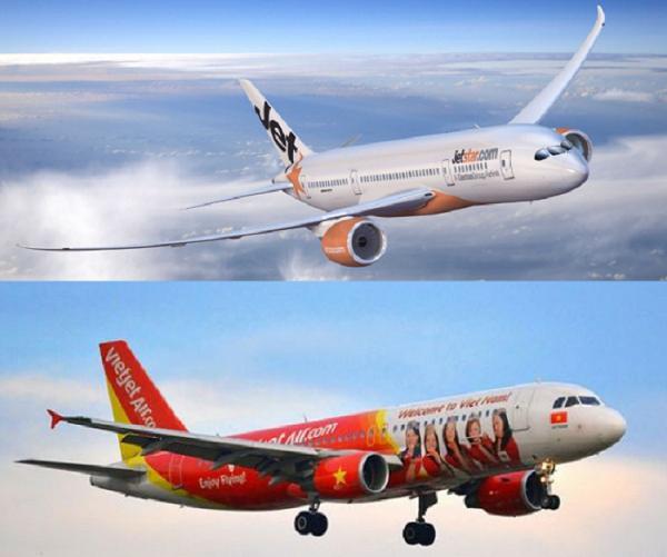 So sánh Vietjet và Jetstar