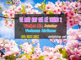 Vé máy bay giá rẻ tháng 2/2020