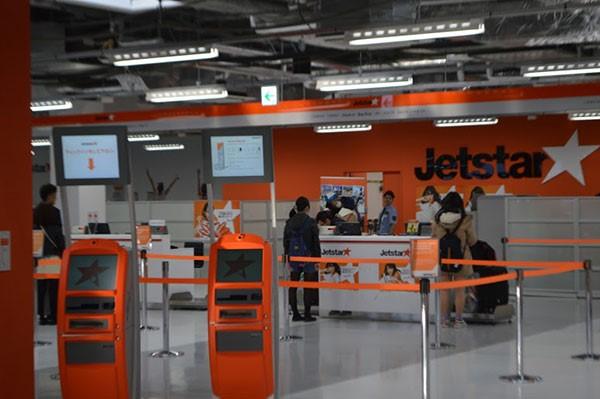 Check in online Jetstar