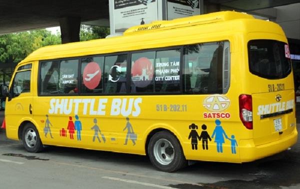 Xe bus sân bay Tân Sơn Nhất