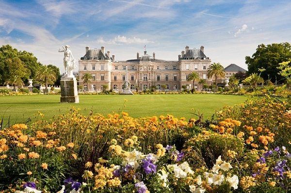 khu vườn Luxembourg
