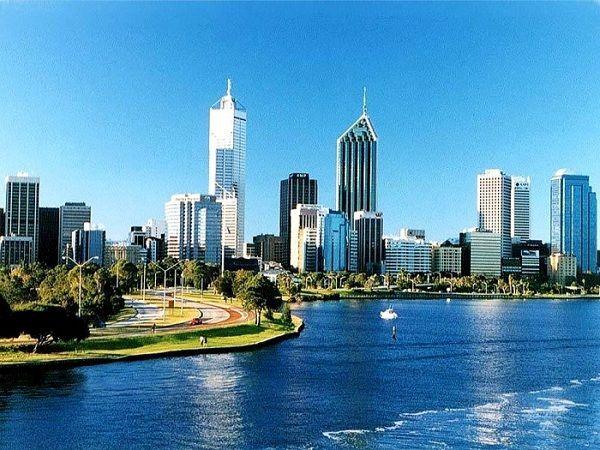Thành phố Perth thanh bình
