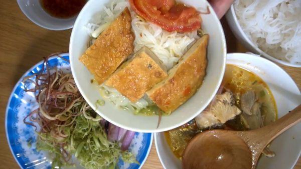 Bún chả cá Bình Định