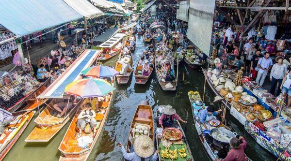 Chợ nổi Damnoen Saduk