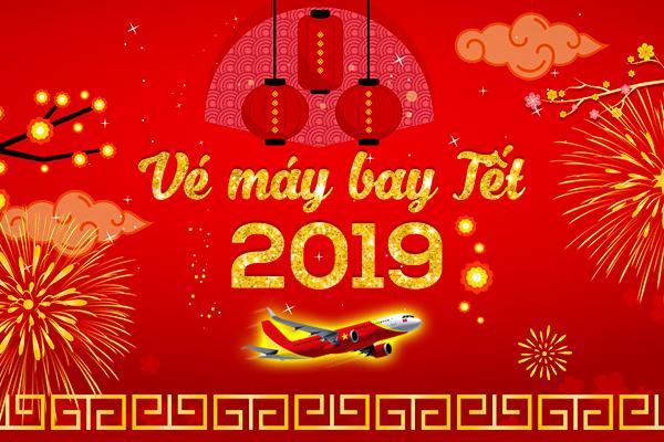 Vé máy bay Tết 2019 giá rẻ