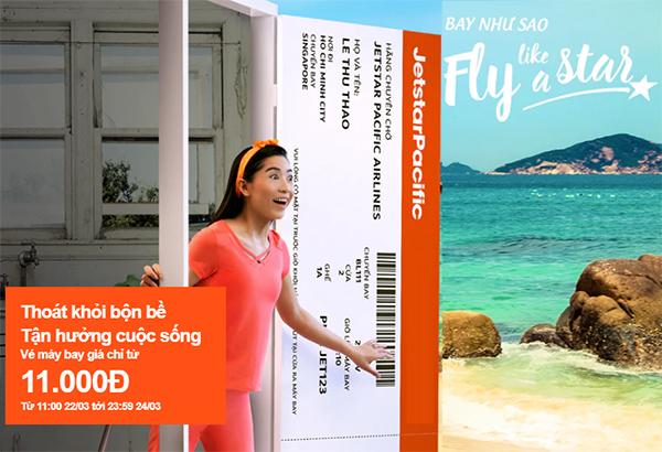 Jetstar khuyến mãi vé máy bay đi Nha Trang hè chỉ 11K