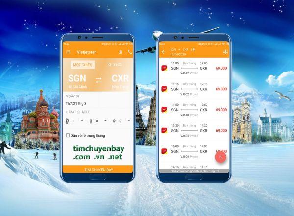 Săn vé máy bay giá rẻ qua app vé máy bay