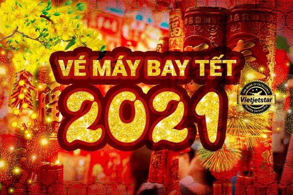 Vé máy bay Tết giá rẻ Vietjet Vietnam Airlines và Bamboo Airways