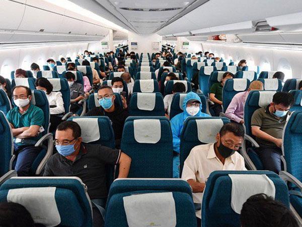 Quy định giãn cách hành khách trên máy bay